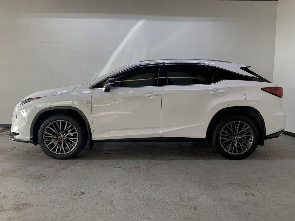 WHITE 2017 Lexus RX 350 F-Sport - Bluetooth, NAV, Remote Start, Backup Cam, Leather, XM Left Side Photo in Edmonton AB