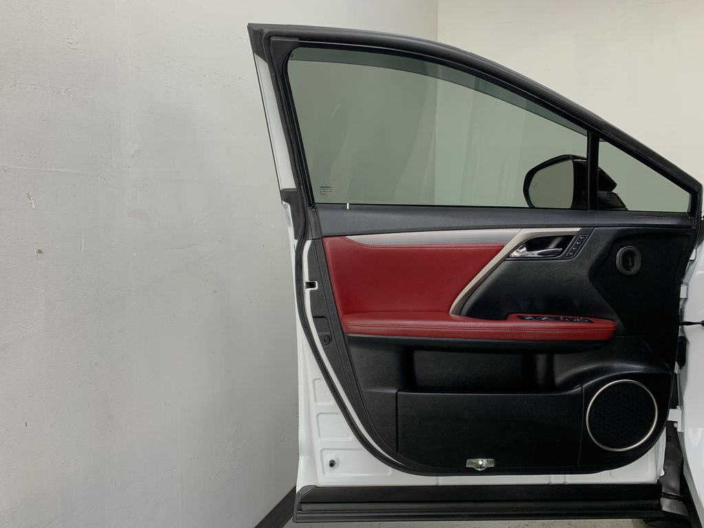 WHITE 2017 Lexus RX 350 F-Sport - Bluetooth, NAV, Remote Start, Backup Cam, Leather, XM Left Front Interior Door Panel Photo in Edmonton AB