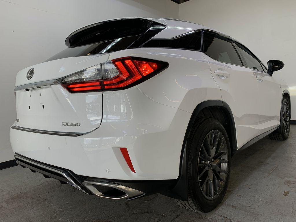 WHITE 2017 Lexus RX 350 F-Sport - Bluetooth, NAV, Remote Start, Backup Cam, Leather, XM Right Rear Corner Photo in Edmonton AB