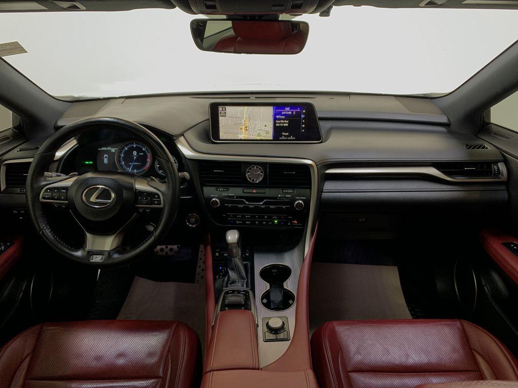 WHITE 2017 Lexus RX 350 F-Sport - Bluetooth, NAV, Remote Start, Backup Cam, Leather, XM Strng Wheel/Dash Photo: Frm Rear in Edmonton AB