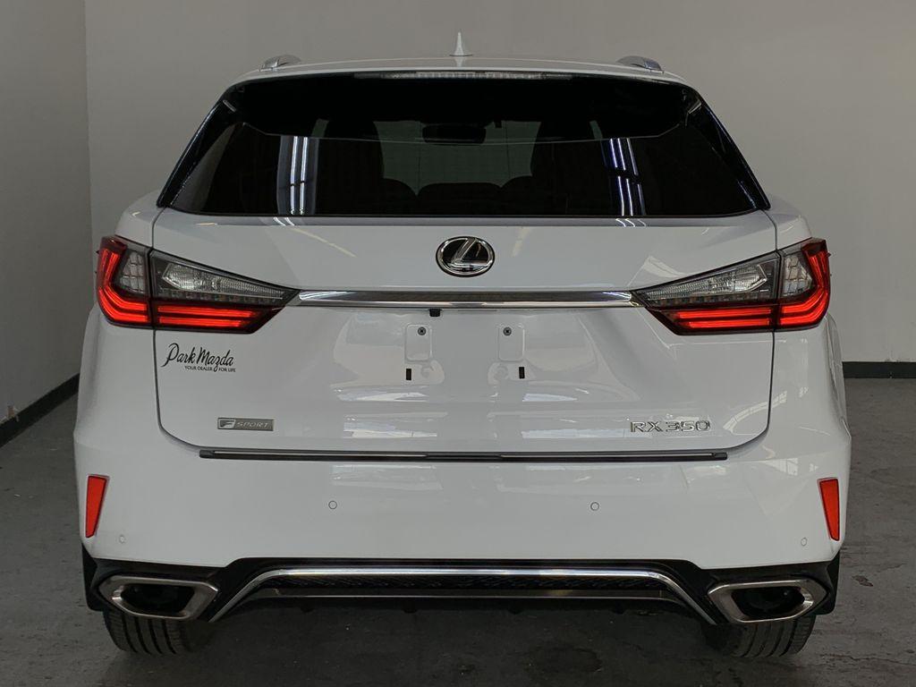 WHITE 2017 Lexus RX 350 F-Sport - Bluetooth, NAV, Remote Start, Backup Cam, Leather, XM Rear of Vehicle Photo in Edmonton AB