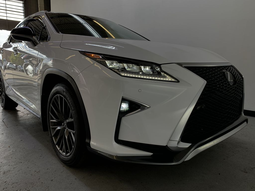 WHITE 2017 Lexus RX 350 F-Sport - Bluetooth, NAV, Remote Start, Backup Cam, Leather, XM Right Front Corner Photo in Edmonton AB