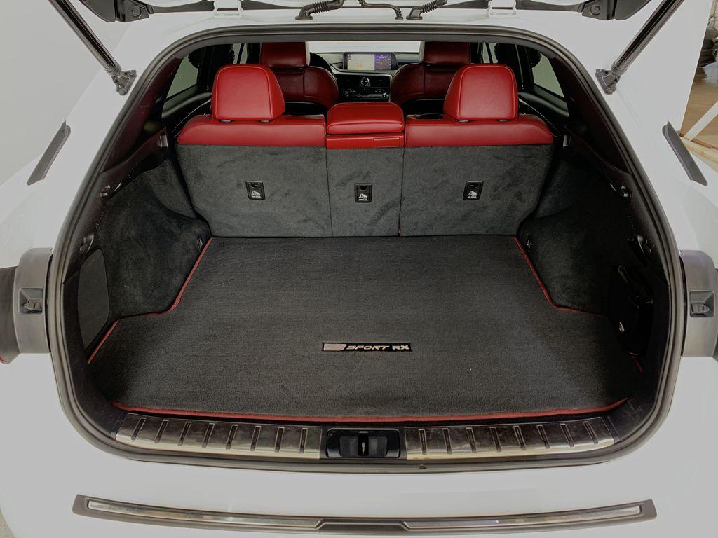 WHITE 2017 Lexus RX 350 F-Sport - Bluetooth, NAV, Remote Start, Backup Cam, Leather, XM Trunk / Cargo Area Photo in Edmonton AB