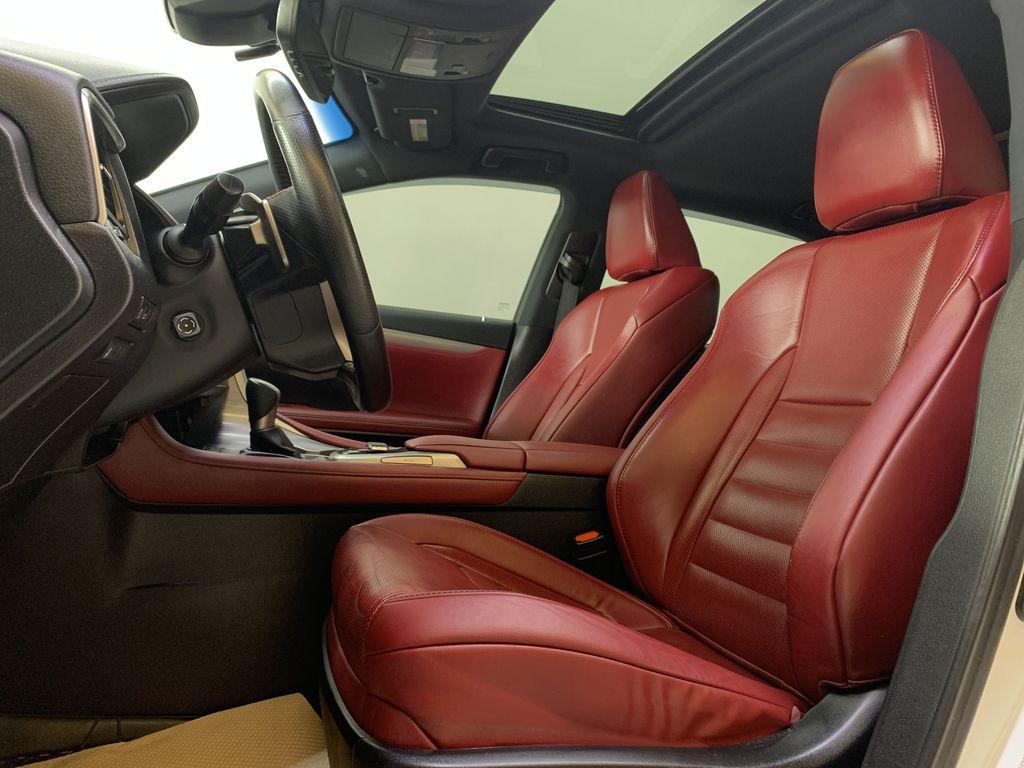 WHITE 2017 Lexus RX 350 F-Sport - Bluetooth, NAV, Remote Start, Backup Cam, Leather, XM Left Front Interior Photo in Edmonton AB