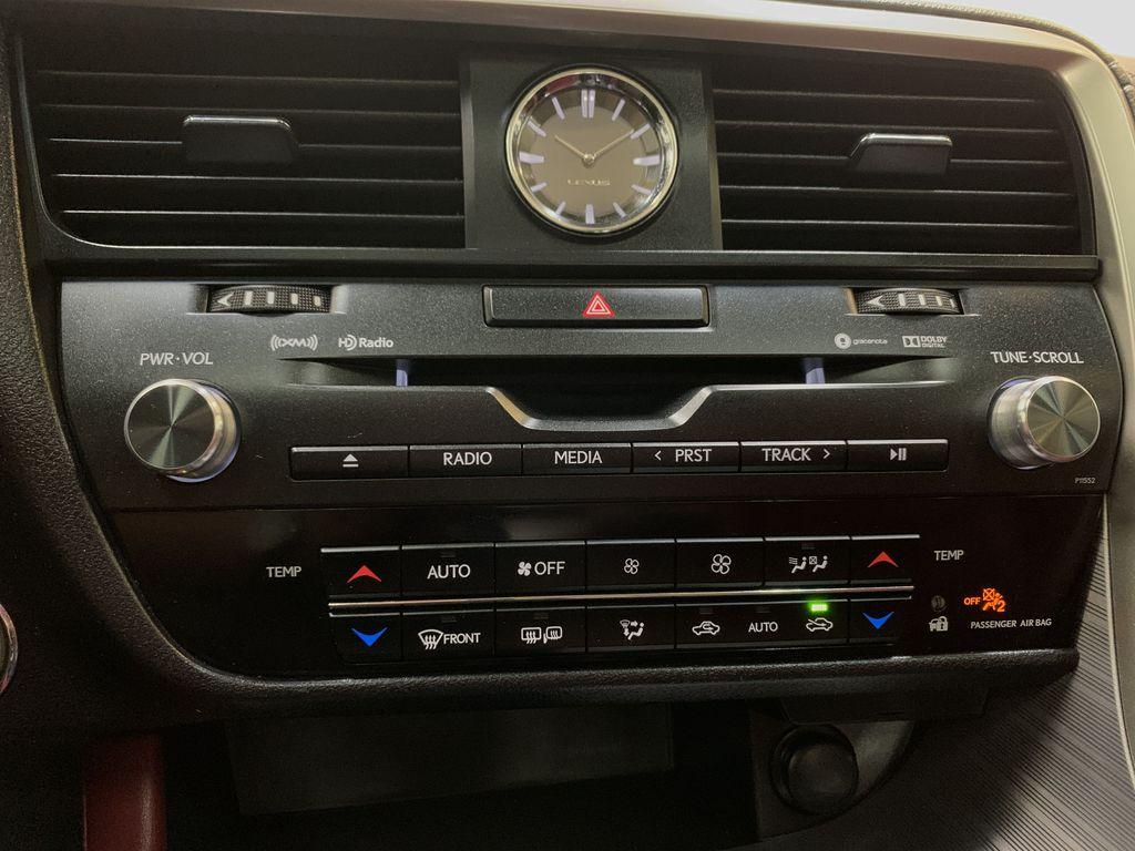 WHITE 2017 Lexus RX 350 F-Sport - Bluetooth, NAV, Remote Start, Backup Cam, Leather, XM Central Dash Options Photo in Edmonton AB