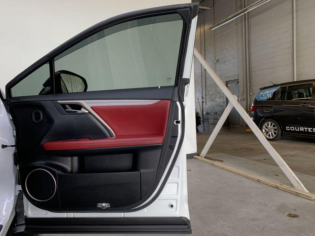 WHITE 2017 Lexus RX 350 F-Sport - Bluetooth, NAV, Remote Start, Backup Cam, Leather, XM Right Front Interior Door Panel Photo in Edmonton AB