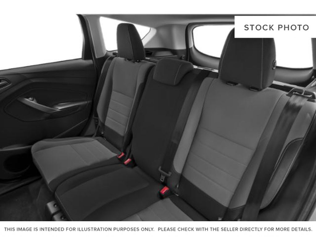 Silver[Ingot Silver] 2019 Ford Escape Left Side Rear Seat  Photo in Fort Macleod AB