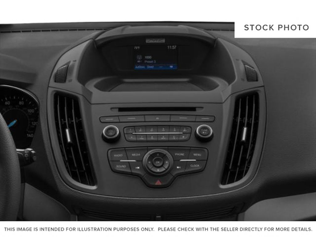 Silver[Ingot Silver] 2019 Ford Escape Radio Controls Closeup Photo in Fort Macleod AB