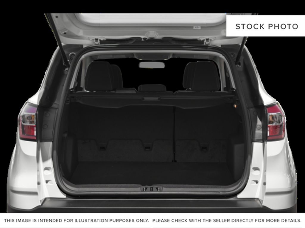 Silver[Ingot Silver] 2019 Ford Escape Trunk / Cargo Area Photo in Fort Macleod AB