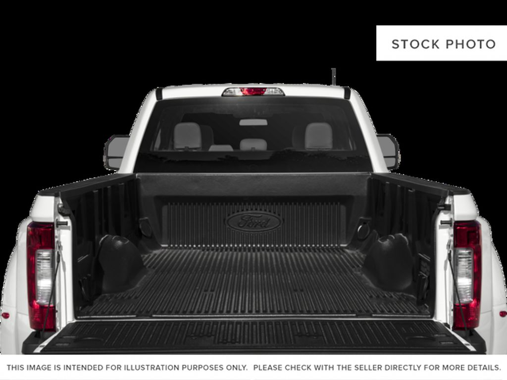 Black[Shadow Black] 2017 Ford Super Duty F-350 DRW Trunk / Cargo Area Photo in Fort Macleod AB