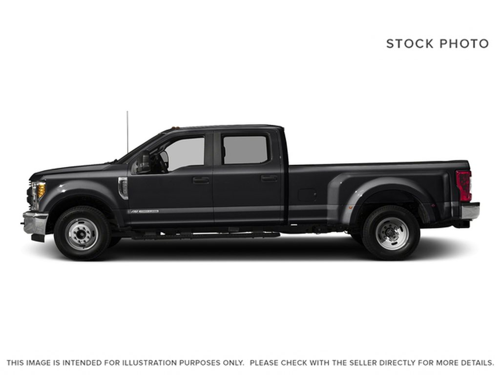Black[Shadow Black] 2017 Ford Super Duty F-350 DRW Left Side Photo in Fort Macleod AB