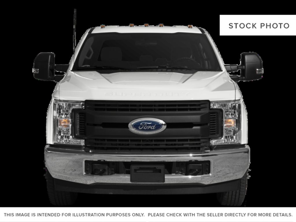 Black[Shadow Black] 2017 Ford Super Duty F-350 DRW Front Vehicle Photo in Fort Macleod AB