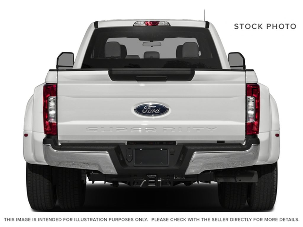 Black[Shadow Black] 2017 Ford Super Duty F-350 DRW Rear of Vehicle Photo in Fort Macleod AB