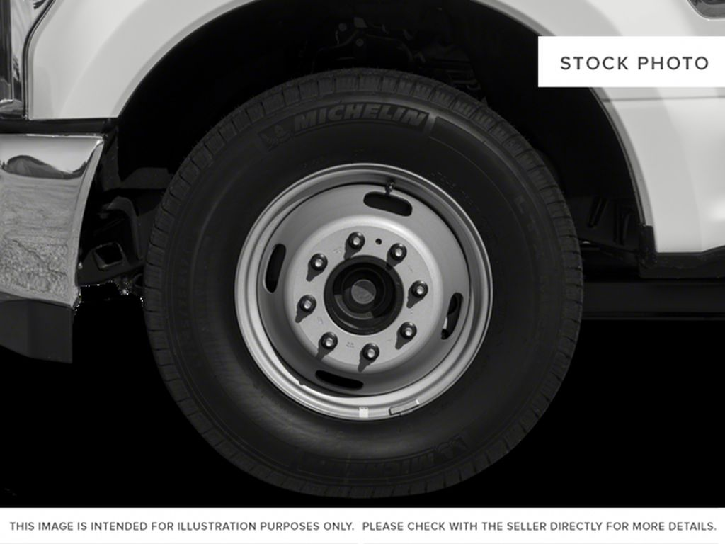 Black[Shadow Black] 2017 Ford Super Duty F-350 DRW Left Front Rim and Tire Photo in Fort Macleod AB