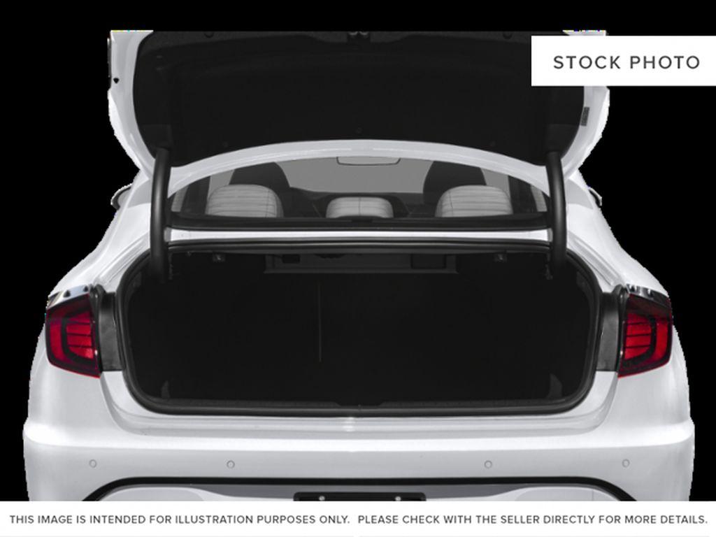 Silver[Shimmering Silver] 2022 Hyundai Sonata Hybrid Trunk / Cargo Area Photo in Ottawa ON