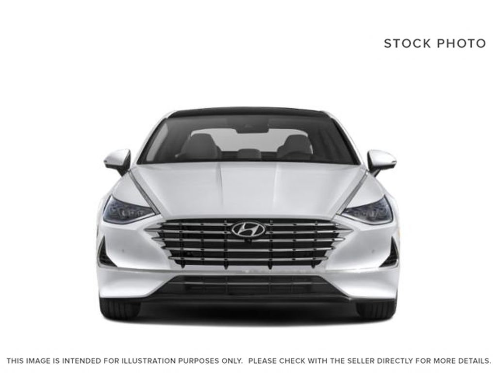 Silver[Shimmering Silver] 2022 Hyundai Sonata Hybrid Front Vehicle Photo in Ottawa ON