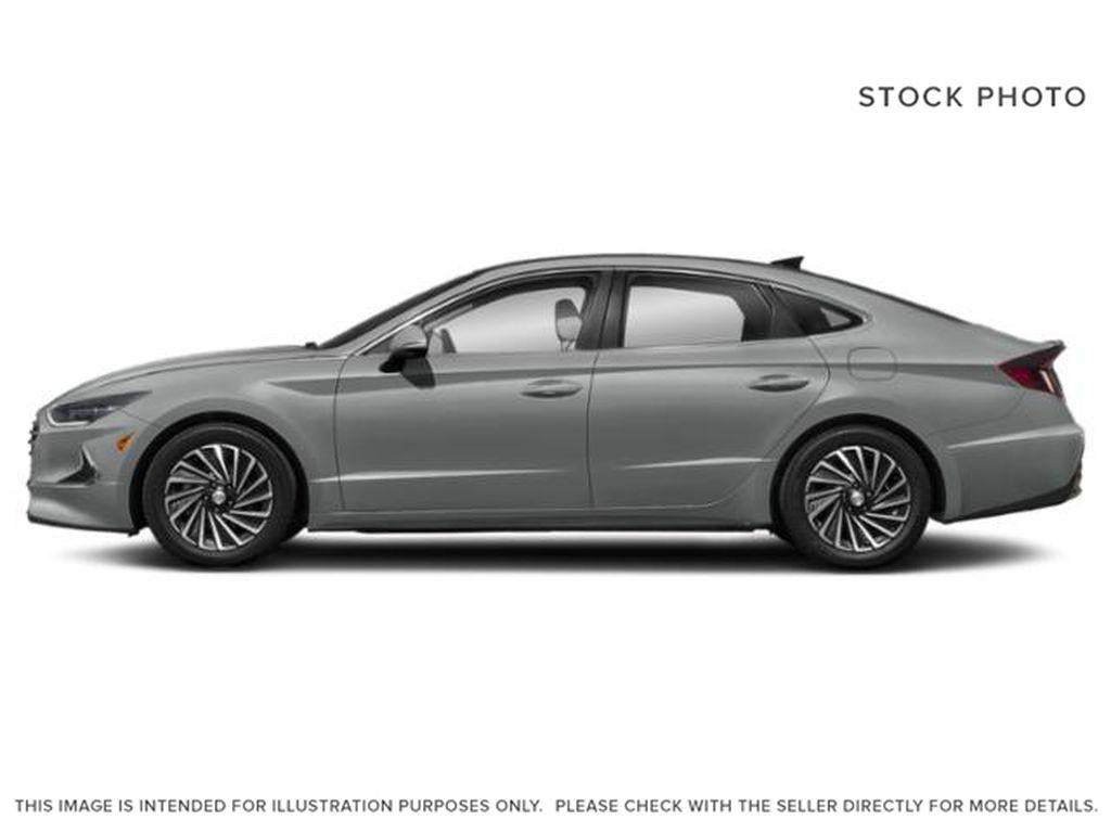 Silver[Shimmering Silver] 2022 Hyundai Sonata Hybrid Left Side Photo in Ottawa ON