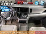 Gray[Pre-Dawn Grey Mica] 2015 Toyota Sienna Base - 7 Passenger Central Dash Options Photo in Winnipeg MB