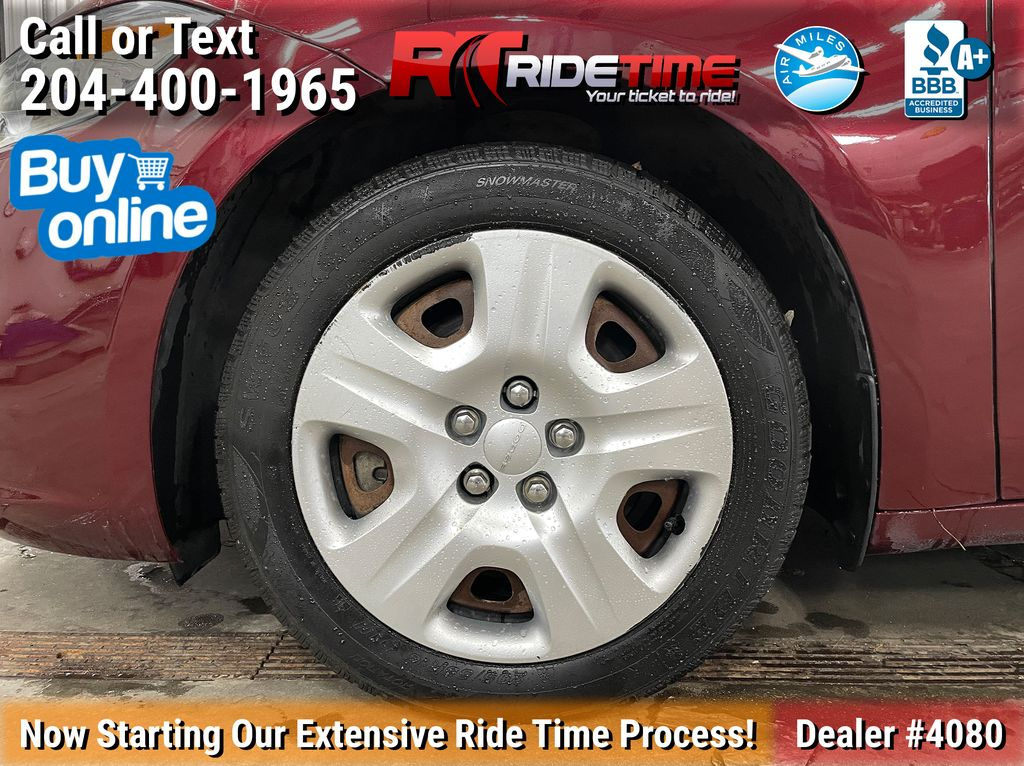 Red[Passion Red Pearl] 2015 Dodge Dart SE - Automatic, Bluetooth, LOW KMs Left Front Rim and Tire Photo in Winnipeg MB