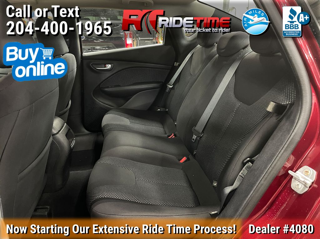Red[Passion Red Pearl] 2015 Dodge Dart SE - Automatic, Bluetooth, LOW KMs Left Side Rear Seat  Photo in Winnipeg MB