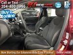 Red[Passion Red Pearl] 2015 Dodge Dart SE - Automatic, Bluetooth, LOW KMs Left Front Interior Photo in Winnipeg MB