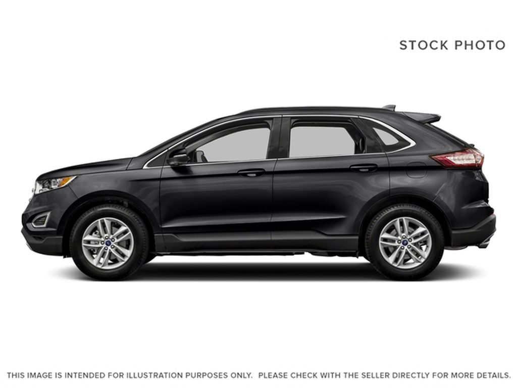 Black[Shadow Black] 2018 Ford Edge Left Side Photo in Dartmouth NS
