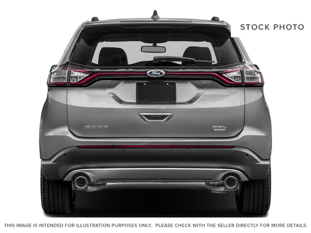 Black[Shadow Black] 2018 Ford Edge Rear of Vehicle Photo in Dartmouth NS