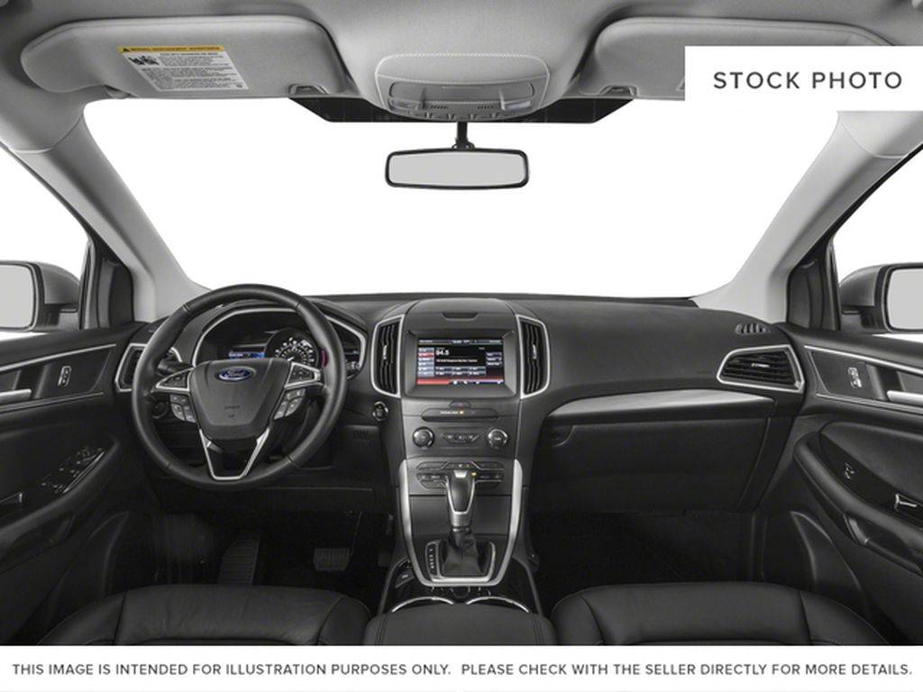 Black[Shadow Black] 2018 Ford Edge Central Dash Options Photo in Dartmouth NS