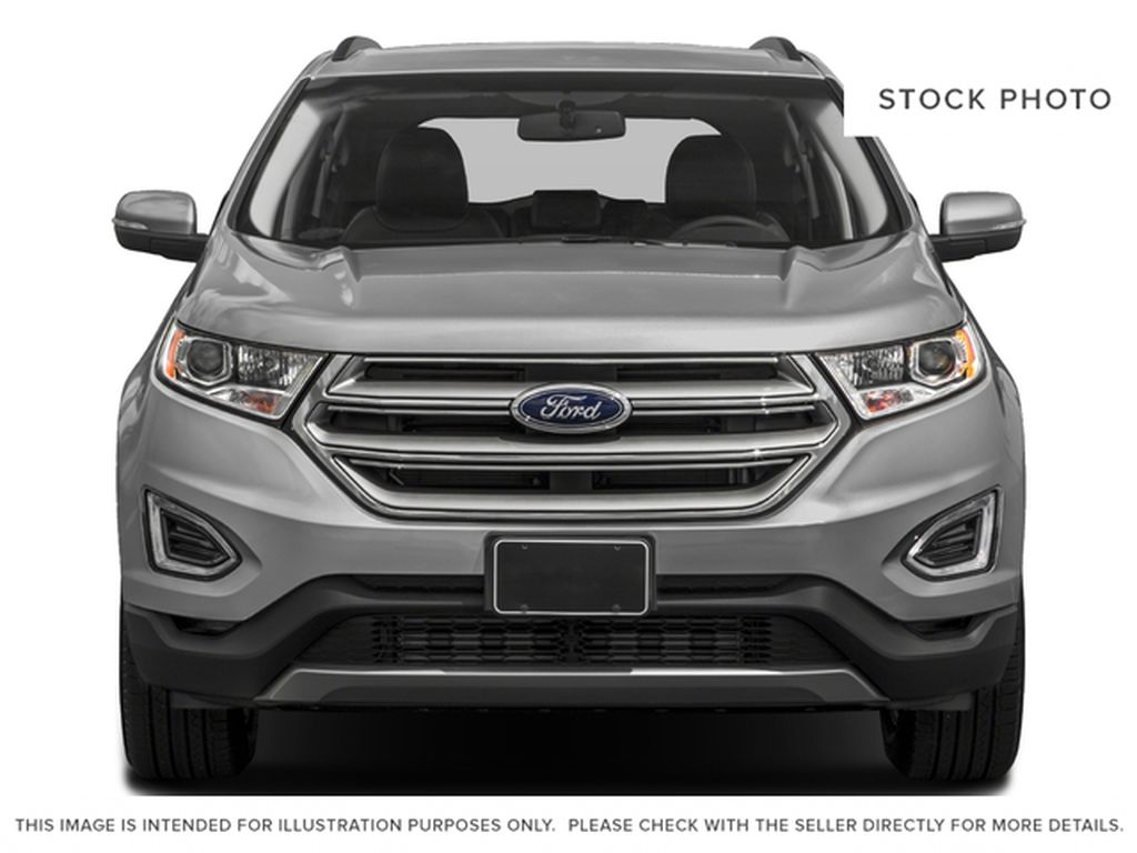 Black[Shadow Black] 2018 Ford Edge Front Vehicle Photo in Dartmouth NS