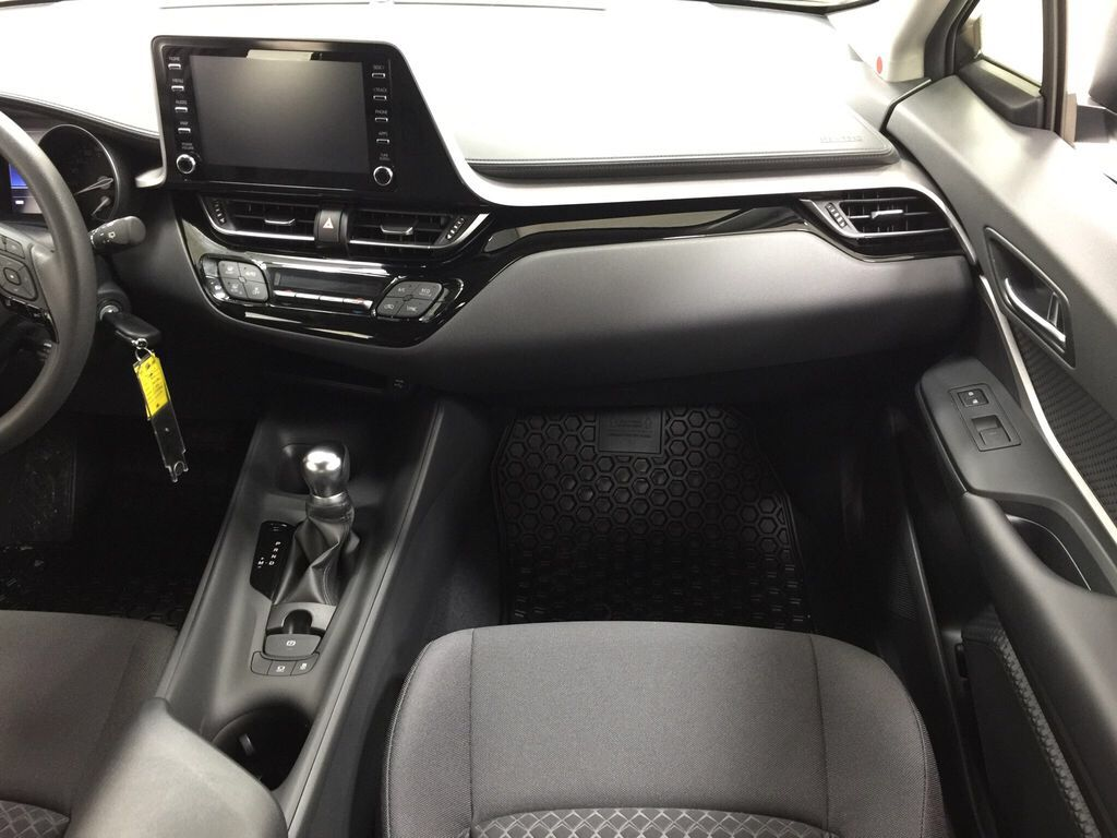 White[Blizzard Pearl] 2021 Toyota C-HR LE Right Front Seat Photo in Sherwood Park AB