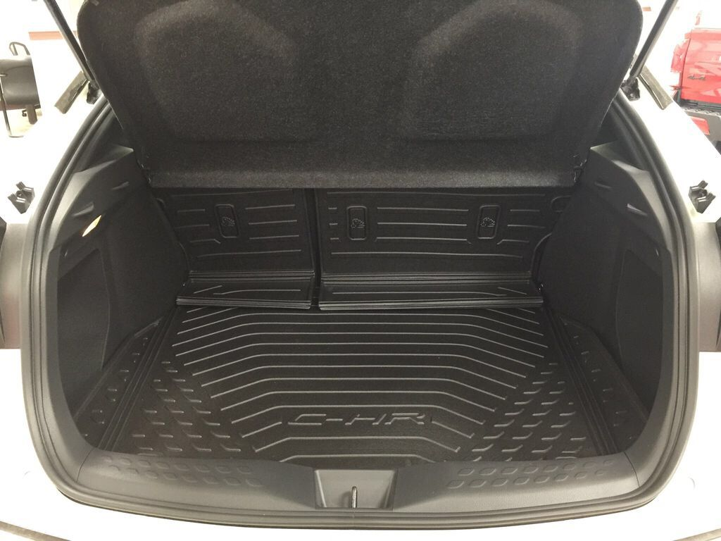 White[Blizzard Pearl] 2021 Toyota C-HR LE Cargo Area/Rear Seats Photo in Sherwood Park AB