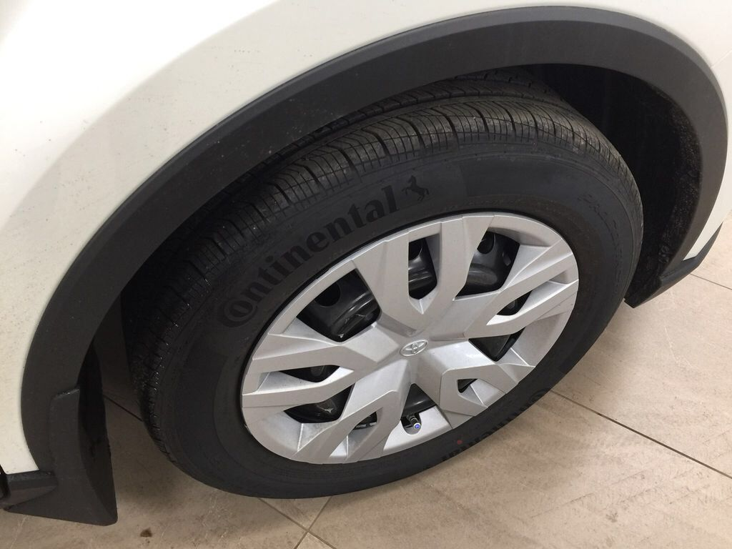 White[Blizzard Pearl] 2021 Toyota C-HR LE Right Front Rim and Tire Photo in Sherwood Park AB