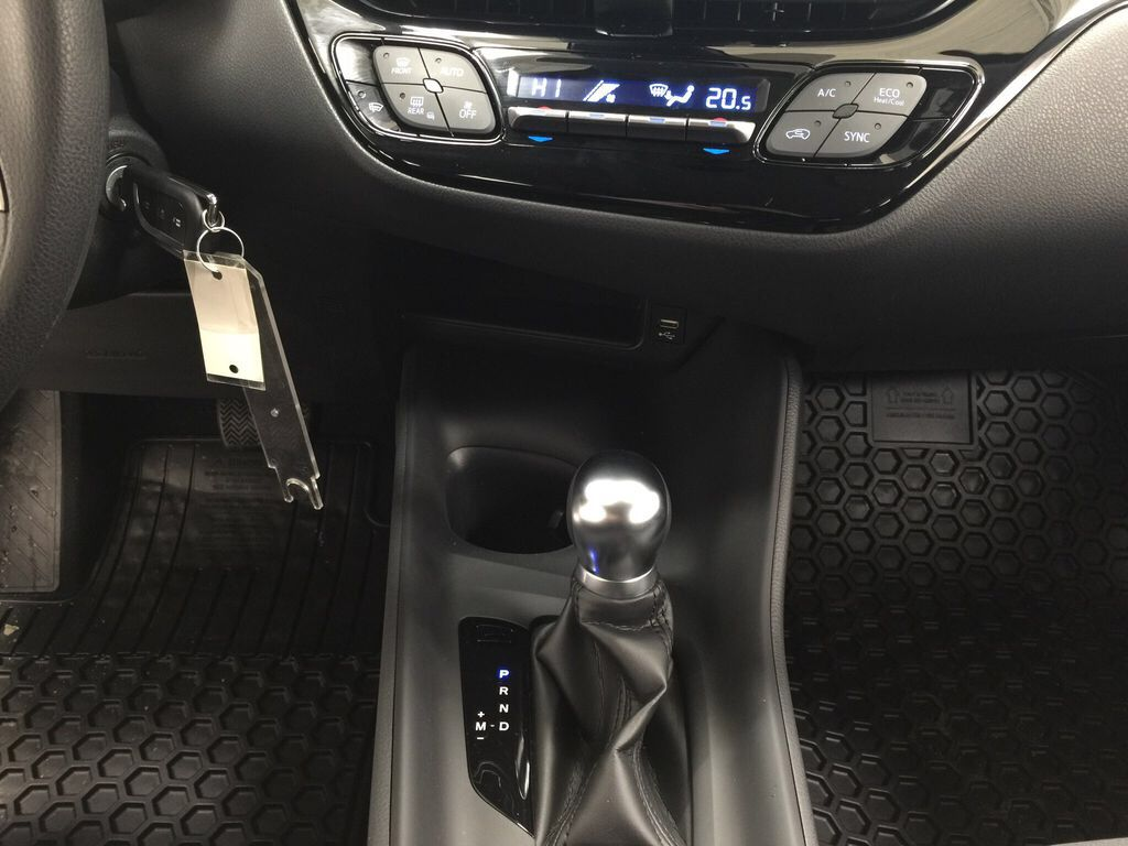 White[Blizzard Pearl] 2021 Toyota C-HR LE Lower Dash Photo in Sherwood Park AB