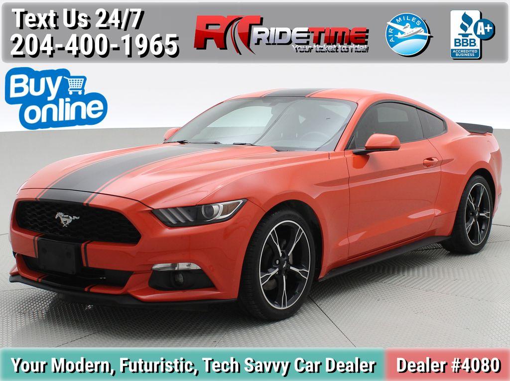 Orange[Competition Orange] 2016 Ford Mustang V6 Fastback - Manual Transmission, Custom Exhaust