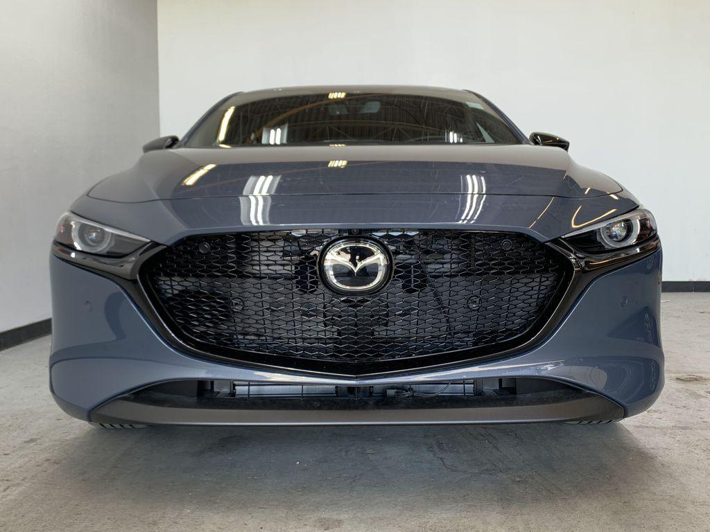 POLYMETAL GREY METALLIC(47C) 2021 Mazda Mazda3 Sport GT Turbo Premium AWD Front Vehicle Photo in Edmonton AB