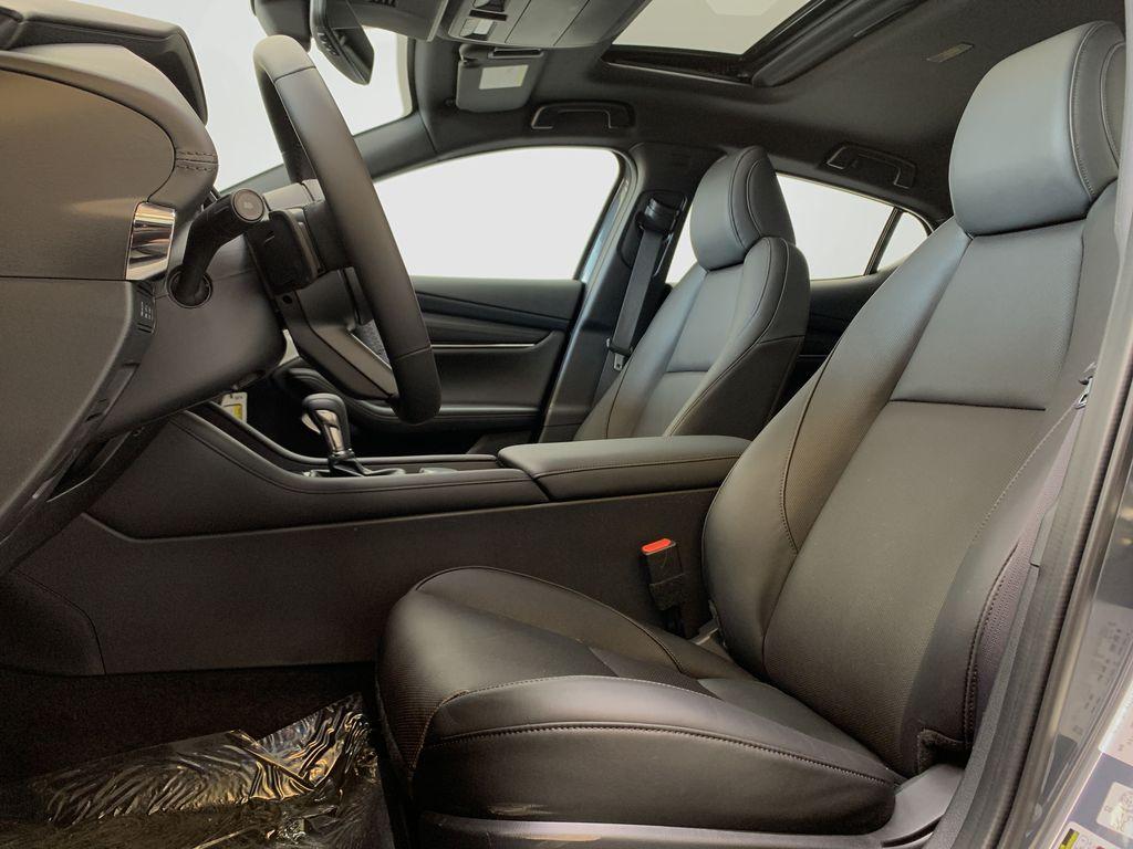 POLYMETAL GREY METALLIC(47C) 2021 Mazda Mazda3 Sport GT Turbo Premium AWD Left Front Interior Photo in Edmonton AB