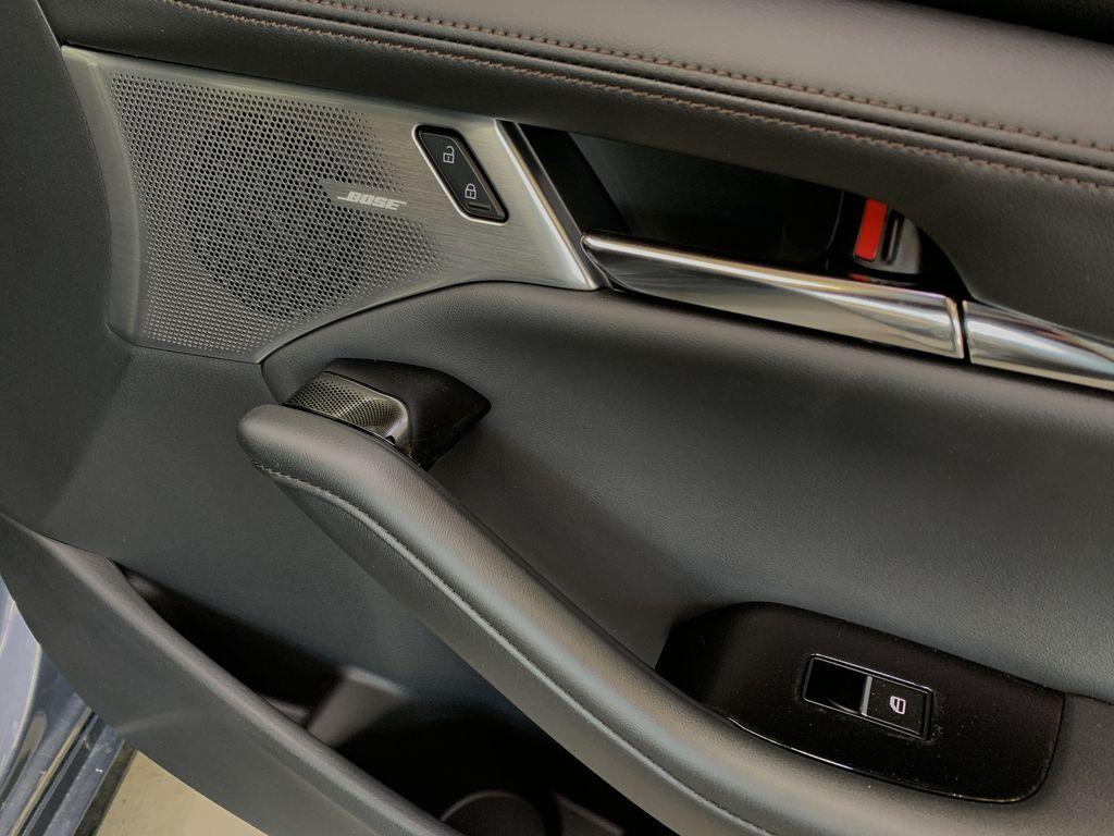 POLYMETAL GREY METALLIC(47C) 2021 Mazda Mazda3 Sport GT Turbo Premium AWD Passenger Front Door Controls Photo in Edmonton AB