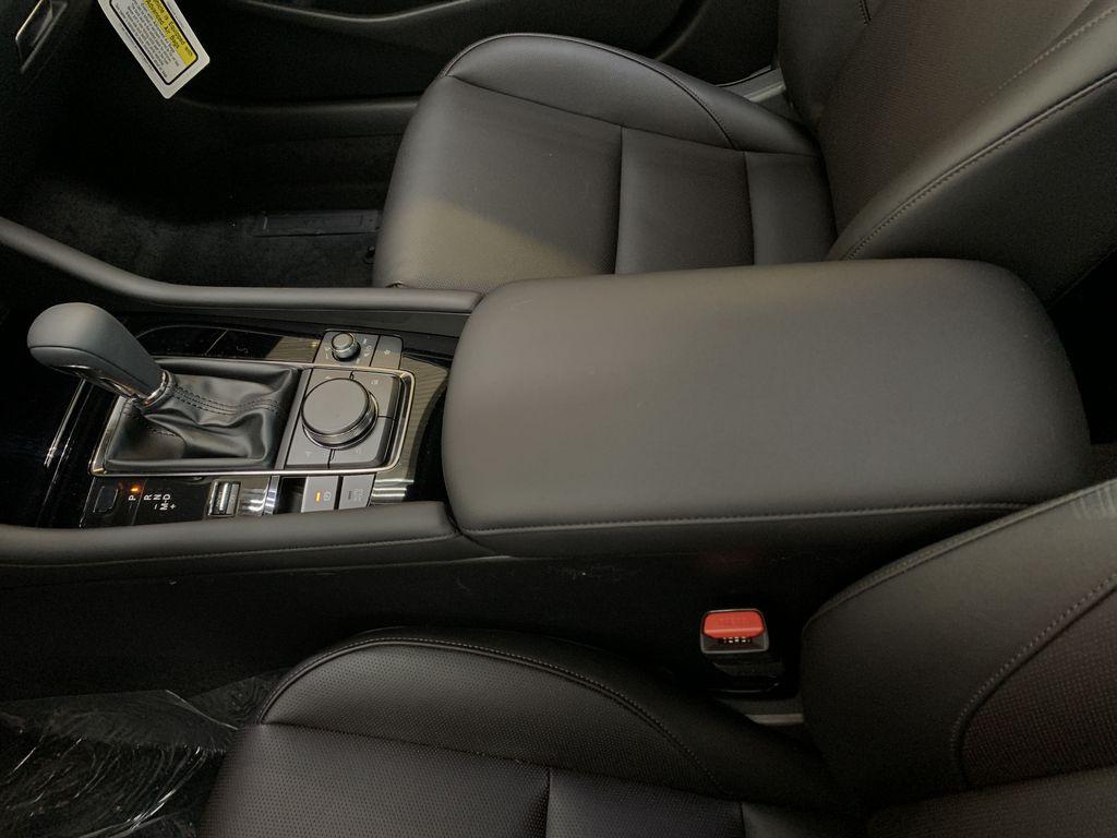 POLYMETAL GREY METALLIC(47C) 2021 Mazda Mazda3 Sport GT Turbo Premium AWD Center Console Photo in Edmonton AB