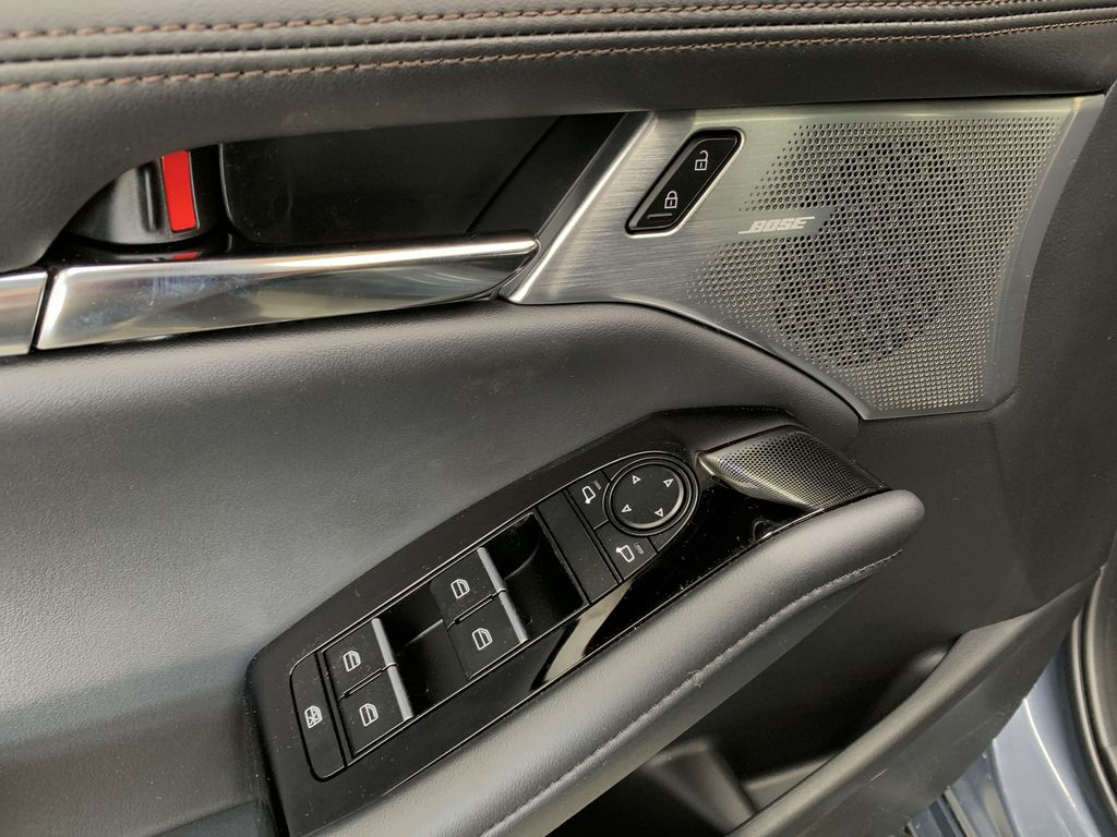 POLYMETAL GREY METALLIC(47C) 2021 Mazda Mazda3 Sport GT Turbo Premium AWD  Driver's Side Door Controls Photo in Edmonton AB