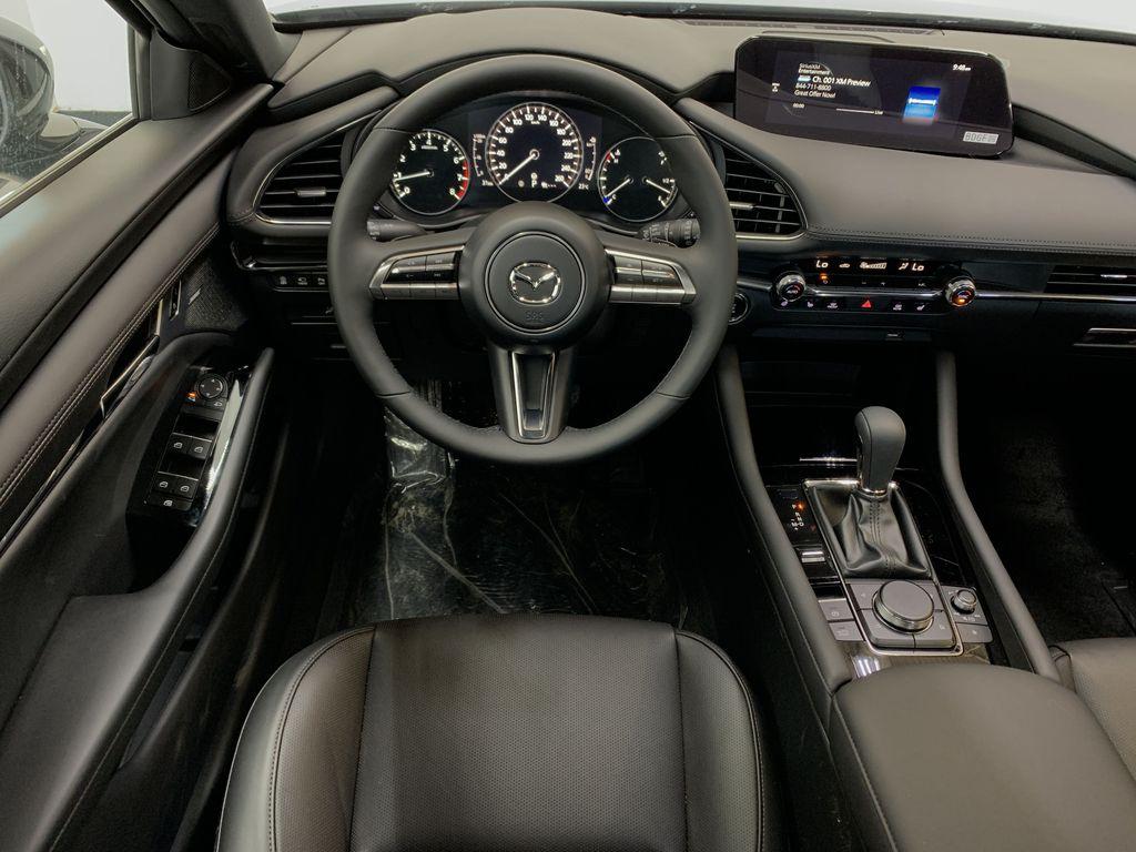 POLYMETAL GREY METALLIC(47C) 2021 Mazda Mazda3 Sport GT Turbo Premium AWD Strng Wheel: Frm Rear in Edmonton AB