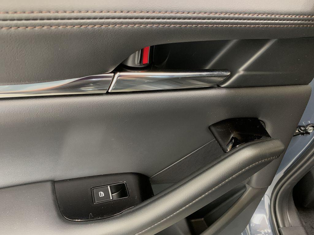 POLYMETAL GREY METALLIC(47C) 2021 Mazda Mazda3 Sport GT Turbo Premium AWD LR Door Panel Ctls Photo in Edmonton AB