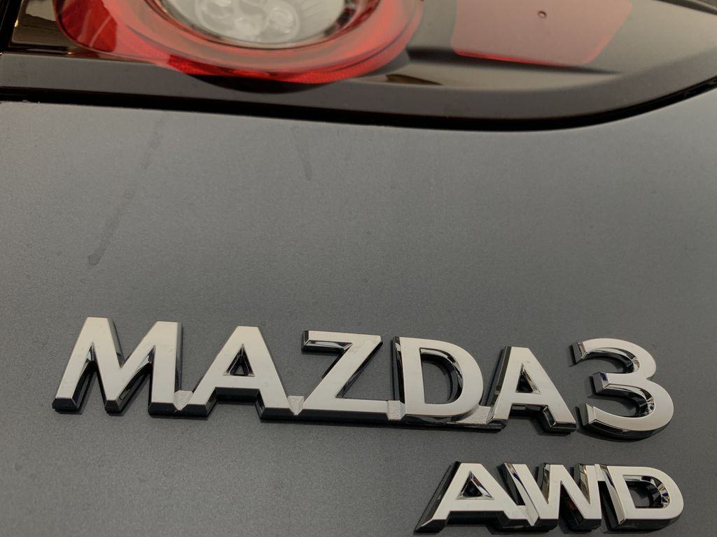 POLYMETAL GREY METALLIC(47C) 2021 Mazda Mazda3 Sport GT Turbo Premium AWD Trim Specific Photo in Edmonton AB