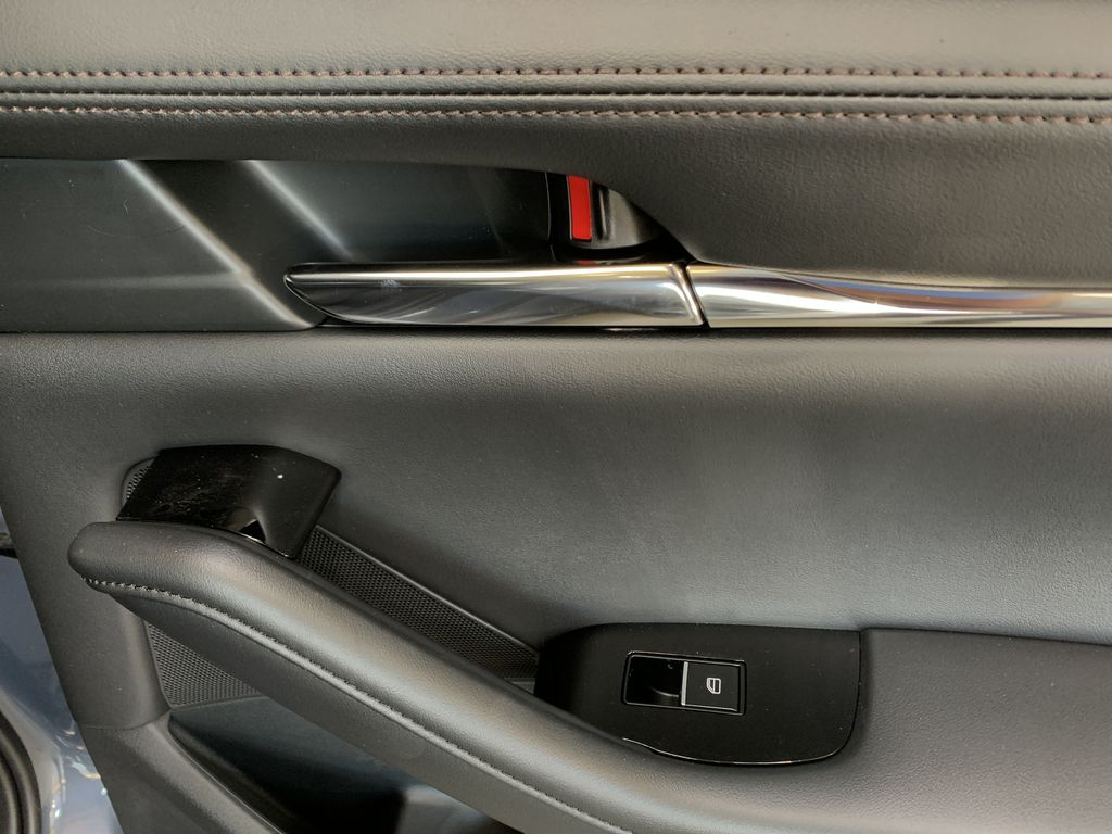 POLYMETAL GREY METALLIC(47C) 2021 Mazda Mazda3 Sport GT Turbo Premium AWD Passenger Rear Door Controls Photo in Edmonton AB