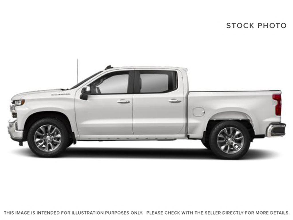White[Summit White] 2021 Chevrolet Silverado 1500 LT Left Side Photo in Calgary AB