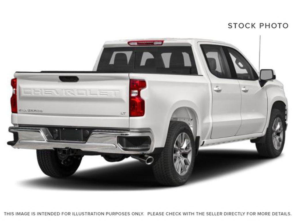 White[Summit White] 2021 Chevrolet Silverado 1500 LT Right Rear Corner Photo in Calgary AB
