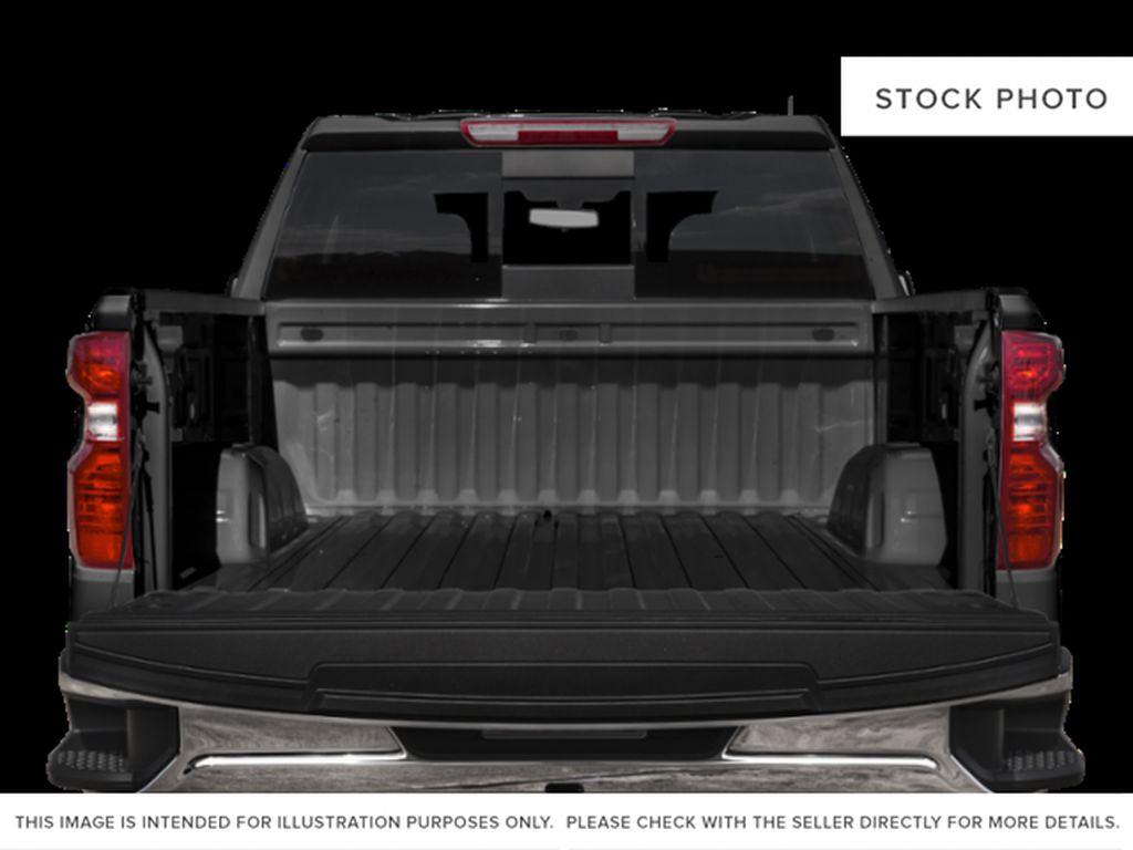 White[Summit White] 2021 Chevrolet Silverado 1500 LT Trunk / Cargo Area Photo in Calgary AB