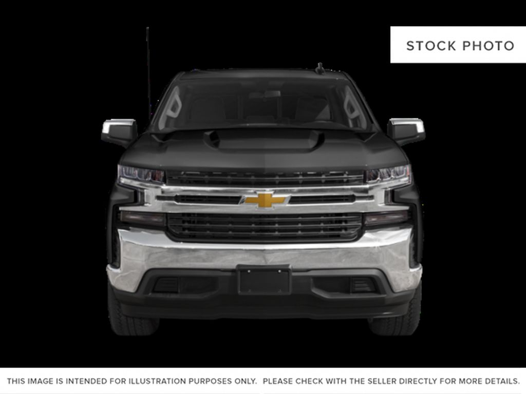 Silver[Silver Ice Metallic] 2021 Chevrolet Silverado 1500 RST Front Vehicle Photo in Calgary AB