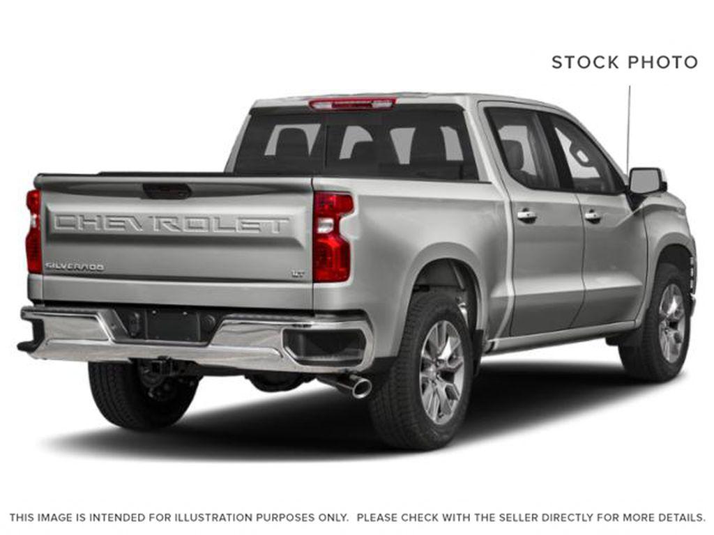 Silver[Silver Ice Metallic] 2021 Chevrolet Silverado 1500 RST Right Rear Corner Photo in Calgary AB
