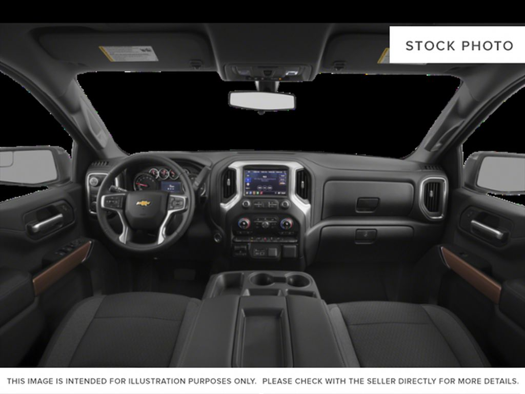 Silver[Silver Ice Metallic] 2021 Chevrolet Silverado 1500 RST Central Dash Options Photo in Calgary AB