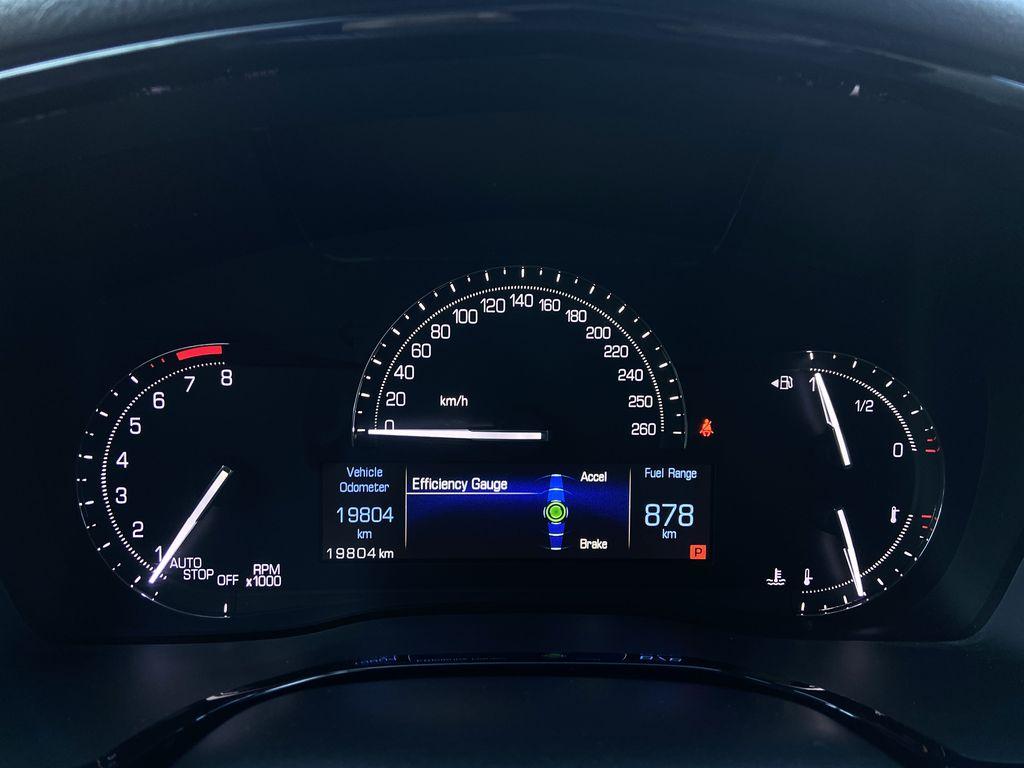 Black[Manhattan Noir Metallic] 2019 Cadillac XT5 Odometer Photo in Calgary AB
